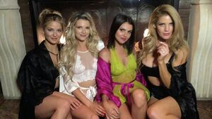 Catch all the action from @Playboy 's Midsummer Night's Dream Party at @marqueelv on my Story tonight! Thank you all for coming out and making this the baddest MSND I've ever been a part of 🔥💛🔥 (🐱) @missstephaniebranton  @valkeil @crystalmccahill