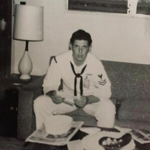 Happy Veterans Day to this stud...thank you Daddy for your service to our country...I love you. #veteransday #navy #myhero