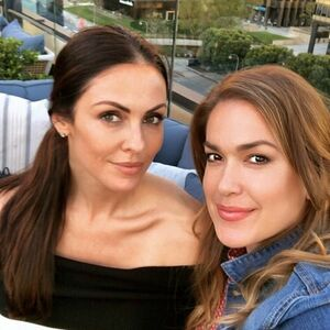 Enjoying the opening of @terralosangeles with my ride or die @jeninaperaza...this place is incredible...amazing rooftop and the food is to die for ❤️🤤
